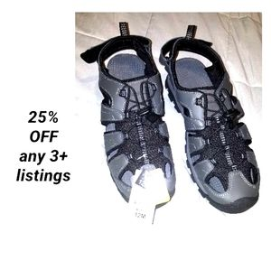 New Eddie Bauer leather sandals